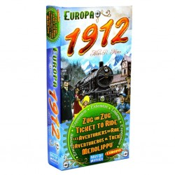Ticket to Ride: Europa 1912 (Expansión)