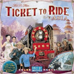 Ticket to Ride - Map Collection 1 - Asia (Expansión)