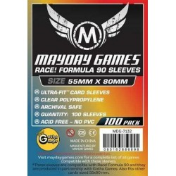 Mayday Race! Formula 90 (F): 55 x 80 mm